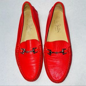 Paolo Bentini Red Driving Loafers